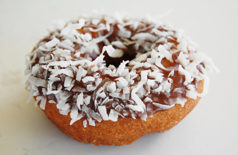 Coconut Donuts With Chocolate Glaze Recipes — Dishmaps