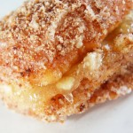 Apples Stuffed in a Cinnamon Crumb Donut