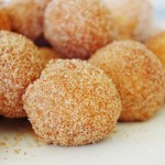 Cinnamon Sugar Dusted Cake Donut Holes