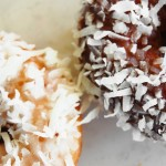 Coconut Topped Cake Donuts
